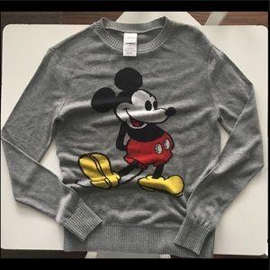 New Disney Mickey Mouse crew neck sweater. S